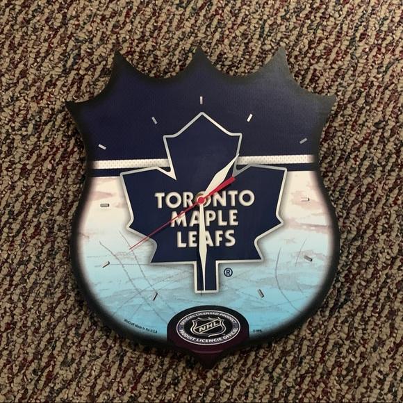 Toronto Maple Leafs Clock